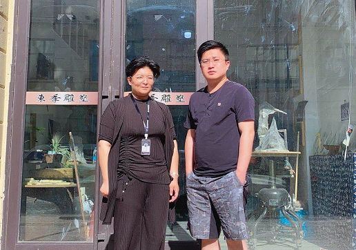 佳木斯bob棋牌周雪与黑龙江東季雕塑达成网站合作